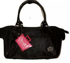 Caboodles Envy Bag Black Travel Case Tote Doctor Bag Cosmetic ZIp Organizer New