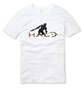Halo Gaming T Shirt White