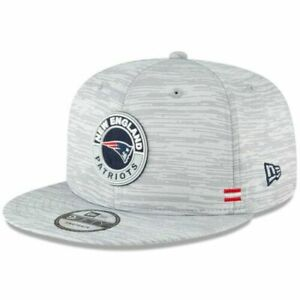 NEW ENGLAND PATRIOTS 2020 NFL OFFICIAL NEW ERA 9FIFTY SIDELINE SNAPBACK HAT CAP