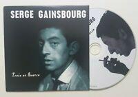 """SERGE GAINSBOURG ♦ """" L'ETONNANT """" 3ème + 4ème ALBUM - EDITION LIMITÉE CD ♦"""