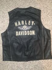 Harley Davidson 100th leather Vest XL