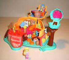 """Polly Pocket Bluebird Mini-Spielzeug """"Dschungel-Haus + 1 Figur""""  PP34"""
