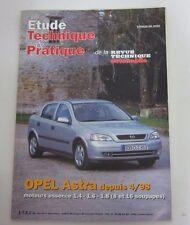 RTA Etude technique & pratique Opel astra depuis 4/98 essence 1.4 1.6 1.8 8&16 s