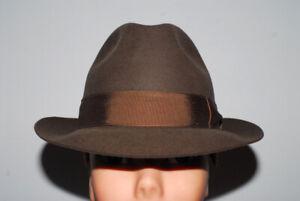 Borsalino cappello stile Bogart taglia 56