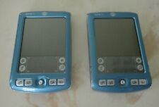 Lot of 2 Palm Zire 71 Color Handheld Pda Organizers (Blue/Silver) As Is