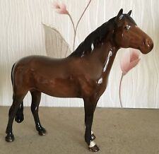 BESWICK HORSE PONY NEW FOREST JONATHEN 3rd BROWN GLOSS No 1646 PERFECT RARE