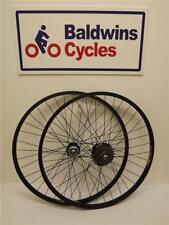 """26"""" paire disque frein vtt/cycle wheels noir + 6 vitesse roue libre"""