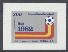 FOOTBALL Syrie 1 bloc de 1981