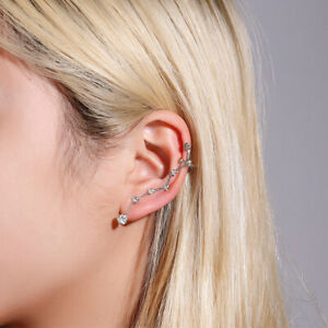 Jewelry No Pierced Non Piercing Tragus Earrings Pearl Ear Cuff Zircon Ear Cuff
