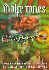 Celtic Symphony -Wolfe Tones 2DVD -  PADRAIC PEARSE, JOE McDONNELL, FREE P&P