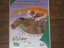 (Autographed) 2000 Kentucky Derby Program By Jockey Kent Desormeaux