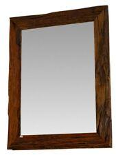 Teak Antique Wood Wall Mirror Wood Frame 95 x 75 cm Bathroom Teakwood New