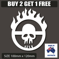 Mad Max Fury Road Mutant Vinyl Sticker Novelty car decal