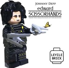 LYL BRICK Custom Edward Scissorhands Lego Minifigure