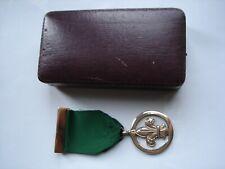 More details for 1967 - boy scout - medal of merit - british with vintage medal presentation case
