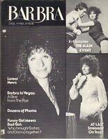 BARBRA STREISAND Quarterly Magazine 1979 Vol 1 No 3