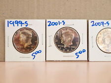 Four (4) United States Kennedy Proof Half Dollars.