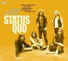 Very Best Of The Early Years - 2 DISC SET - Status Quo (2015, CD NEUF)