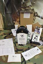 DAVID CLARK PILOT HEAD SET MODEL H10-76 WITH VOLUME CONTROL MILITARY ISSUE NIB