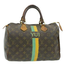 LOUIS VUITTON Monogram Speedy 30 Hand Bag M41526 LV Auth pg745