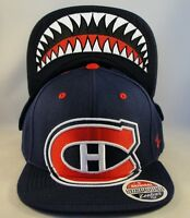 NHL Montreal Canadiens Snapback Hat Cap Zephyr Menace
