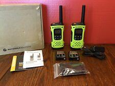 Motorola T600 Talkabout Waterproof 35 mile 2-way Radios 2-pack FREE SHIPPING