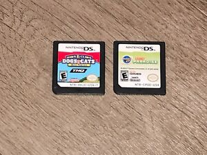 Dogs & Cats Best Friends & Pony Paradise Game Lot Nintendo DS Authentic