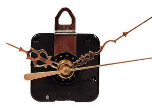 Quartz Clock Motor Movement Kit, 11/16 Long Shaft, 5/8 Inch Max Dial -USA SELLER