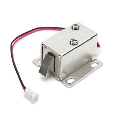 Electronic Lock Catch Door Gate 12V/0.34AElectric Release Assembly Solenoid