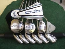 King Cobra MacGregor MacTec Irons Driver Wood Hybrid Complete Golf Club Set Mens
