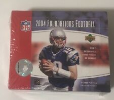 2004 Upper Deck Foundations Factory Sealed Football Hobby Box