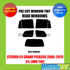 CITROEN C4 GRAND PICASSO 2006-2013 5% LIMO REAR PRE CUT WINDOW TINT