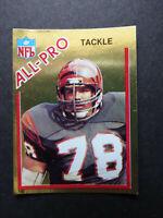 1982 Topps Sticker Anthony Munoz Cincinnati Bengals All-Pro Football Card