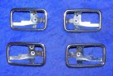 4 Chrom Türgriffmulden Mercedes W108 W109 W114 W115 W116 W123 AKS 1087660511 611