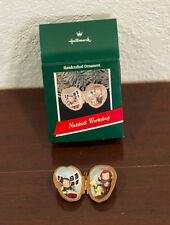 1989 NUTSHELL WORKSHOP LOCKET HALLMARK CHRISTMAS ORNAMENT MIB