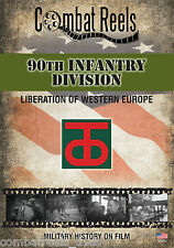90th Infantry Division WWII Combat DVD Western Europe