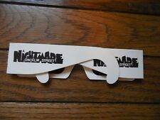 A Nightmare On Elm Street 1999 3 D Glasses Promotional Video Store Movie Promo