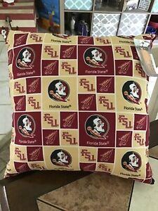 FSU Throw Pillow