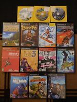 PS2 Game LOT (14 PlayStation 2 Games) Wild Arms, Tony Hawk, Need for Speed, SSX
