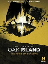 The Curse of Oak Island Season Complete Series 1 2 3 4 5 6 One to Six DVD 1-6