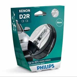 D2R PHILIPS X-tremeVision Xenon Headlight Bulb 85126XV2S1 P32d-3 Gen2 Pack of 1