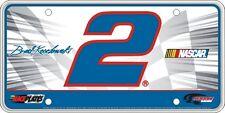 #2 Brad Keselowski Signature Series Souvenir License Plate SS0215WH
