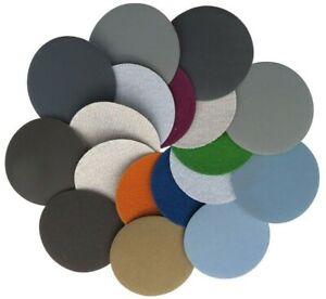 Schleifscheiben 25 50 75 100 125 150 mm Schleifpapier Exzenter Schmirgelpapier