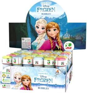 Children's Kids Disney Frozen II Bubble Tubes Tubs Party Bag Fillers UK Seller