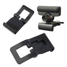 Noir TV Clip pour Sony PS3 Move Eye Camera Mount Holder Stand Réglable UR L40