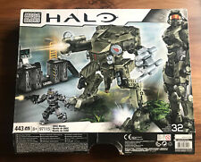 HALO Mega Bloks # 97115 UNSC MANTIS Complete Set / Box / Instruct (Retired 2013)