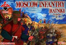 Red Box Models 1/72 MOSCOW INFANTRY RATNIKI 16th Century Figure Set #1