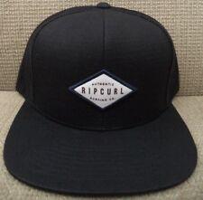 RIP CURL STANLEY TRUCKER CAP HAT BLACK *NEW*