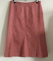 Divided at H&M Size S, Ladies Smart Red Wool Blend Skirt