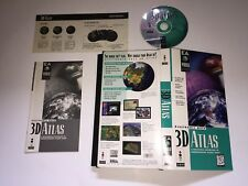 3D Atlas 3DO TESTED COMPLETE IN LONG BOX VERY NICE RARE